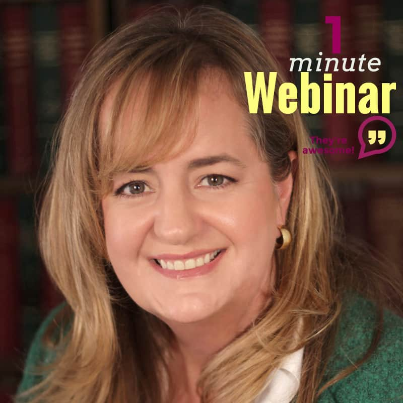 1 Minute Webinar: Bad Appraisal