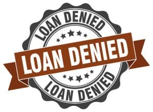 67448159 - loan denied stamp. sign. seal