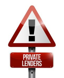 46350030 - private lenders warning sign concept illustration design graphic