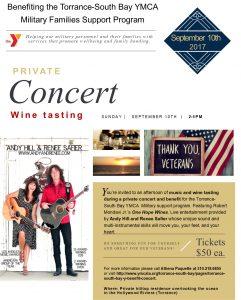 Benefit Concert Flyer